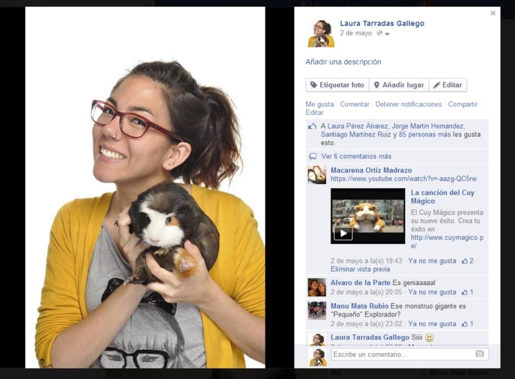 Adopta un mascota, hazte fotos con ella, súbela a la red y emborráchate de popularidad
